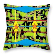 The Arts Of Textile Designs #3 Throw Pillow