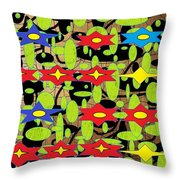 The Arts Of Textile Designs #42 Throw Pillow