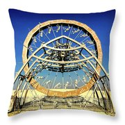 The Ascent Of Man Throw Pillow