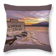 The Ashokan Throw Pillow