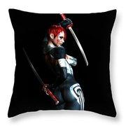 The Assassin's Code Throw Pillow