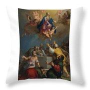 The Assumption Of The Virgin Throw Pillow