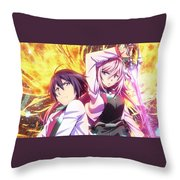 The Asterisk War The Academy City On The Water Throw Pillow