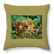 The Astible After The Bloom Throw Pillow