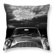 The Aston Db5 Throw Pillow
