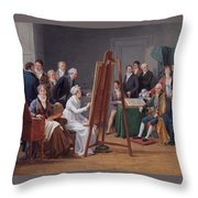 The Atelier Of Madame Vincent  Throw Pillow