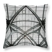 The Atrium At Brookfield Place - Toronto  Ontario Canada Throw Pillow