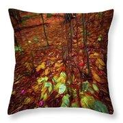 Autumn V6 Throw Pillow