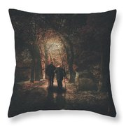The Autumn Of Our Years Throw Pillow