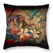 The Autumn Wind Throw Pillow