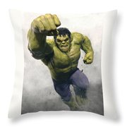 The Avengers Age Of Ultron 2015 21 Throw Pillow