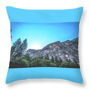 The Awe- Throw Pillow by JD Mims