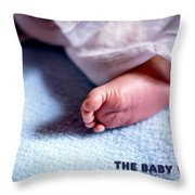 The Baby Wait Throw Pillow