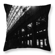 The Back Shop Throw Pillow