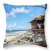 The Bahamas Islands Throw Pillow