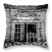 The Baker Hotel Throw Pillow