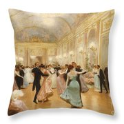 The Ball Throw Pillow