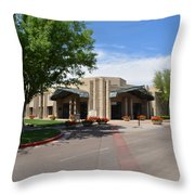 The Ballroom At The Arizona Biltmore Throw Pillow