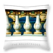 The Balustrades Poster Throw Pillow