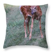The Bambi Stance Throw Pillow