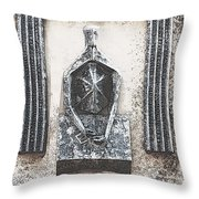 The Banker Throw Pillow