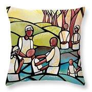 The Baptism Throw Pillow