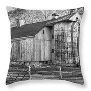 The Barnyard Throw Pillow