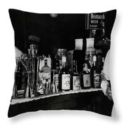 The Bartender Is Back - Prohibition Ends Dec 1933 Throw Pillow