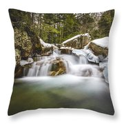 The Basin Cascades Throw Pillow