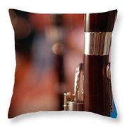 The Bassoon Section Throw Pillow