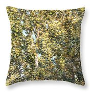 The Bathers Throw Pillow by Childe Hassam