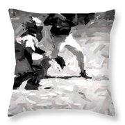 The Batter Throw Pillow