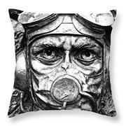 The Battle For Britain Throw Pillow