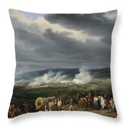 The Battle Of Jemappes Throw Pillow