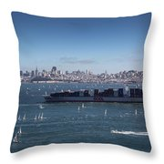 The Bay Throw Pillow