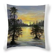 The Bayou Throw Pillow