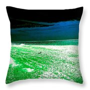 The Beach In Colors  Throw Pillow