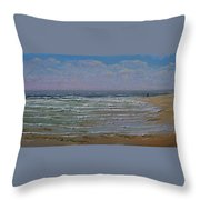 The Beachcomber Throw Pillow