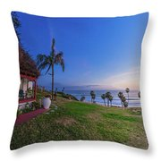 The Beachombers Views Throw Pillow
