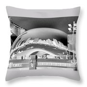 The Bean - 1 Throw Pillow