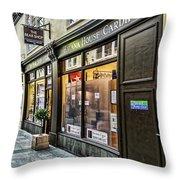 The Bear Shop Throw Pillow