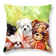 The Bears From The Yorkshire Moor 02 Throw Pillow