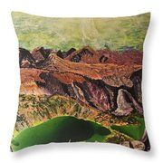 The Bear's Tooth Highway Summit Throw Pillow