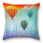 The Beautiful Briny Sea Throw Pillow