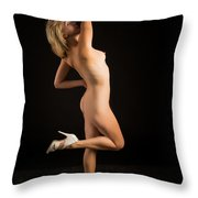 The Beautiful Female Nude Fine Art Prints Or Photographs  4259.0 Throw Pillow