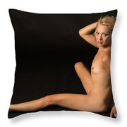 The Beautiful Female Nude Fine Art Prints Or Photographs  4260.0 Throw Pillow