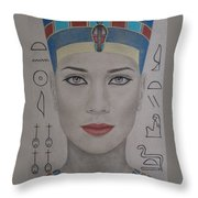 The Beautiful One Has Come Throw Pillow