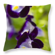 What's Wrong With Being A Pansy? Throw Pillow