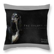 The Beautiful Saluki 01 Throw Pillow