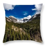 The Beautiful San Juan Mountains Throw Pillow